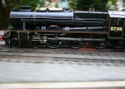 Rebuilt Royal Scot Comet at speed