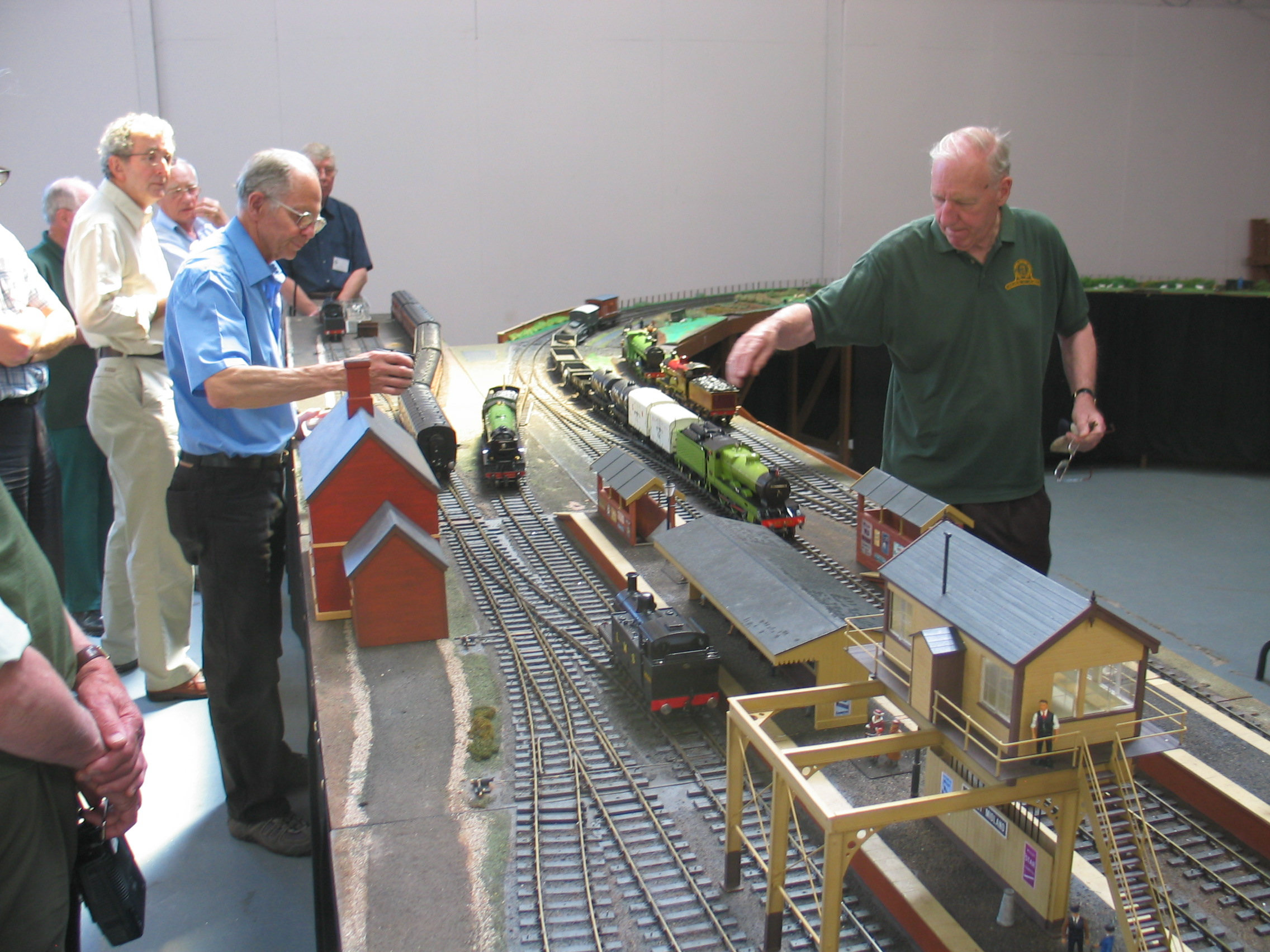 Exhibition Stand Warwickshire : Midland group the gauge one model railway association