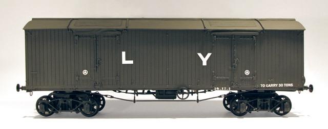 9. The completed L&Y van.