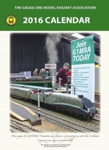 2016 Calendar cover
