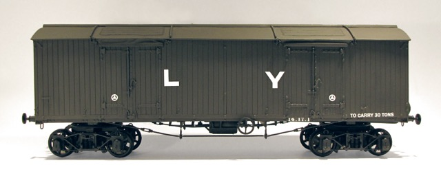 9. The completed L&Y van.